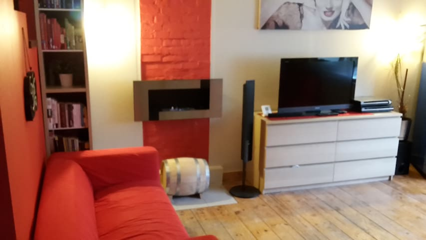 20 km from airport, house in quiet area - Gdynia - House