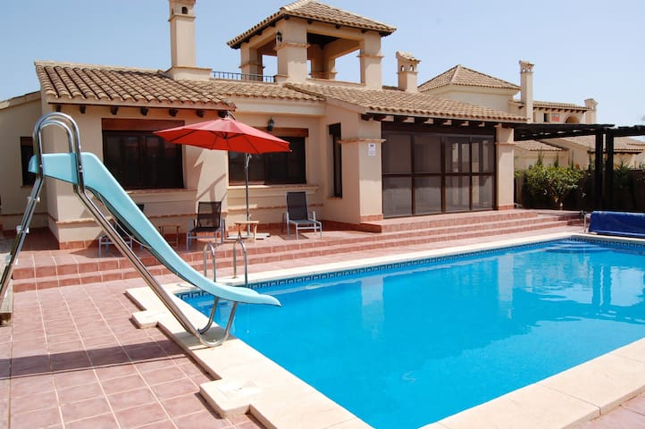 Detached villa with own pool - Fuente Álamo - Willa