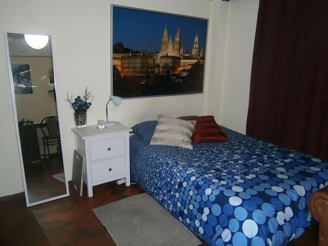 Estudio acogedor a 5 minutos del centro histórico - Santiago de Compostela - Apartment