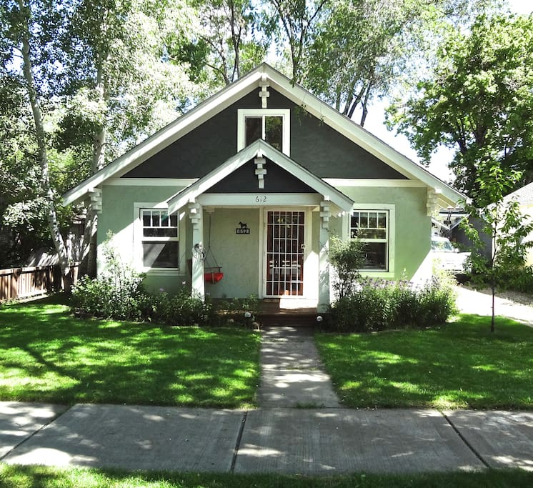 Downtown Houses For Rent: Downtown Flagstaff Bungalow With Modern Loft