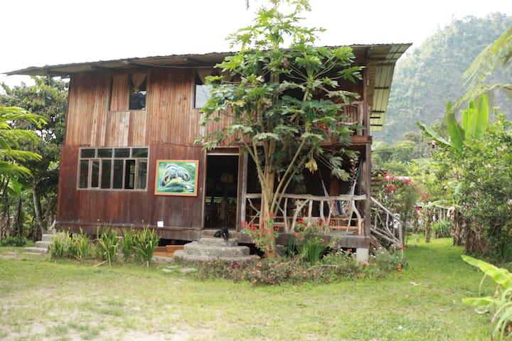 La casa del caminante - Mindo - Cabin
