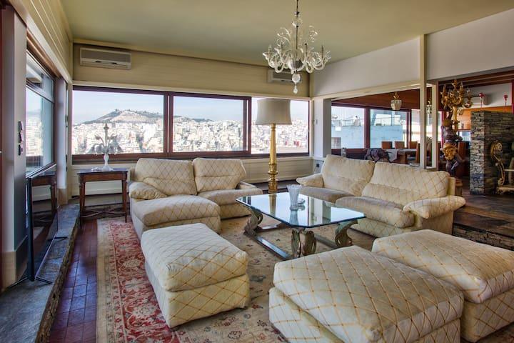Exclusive apt with panoramic views! - Athina - Apartament