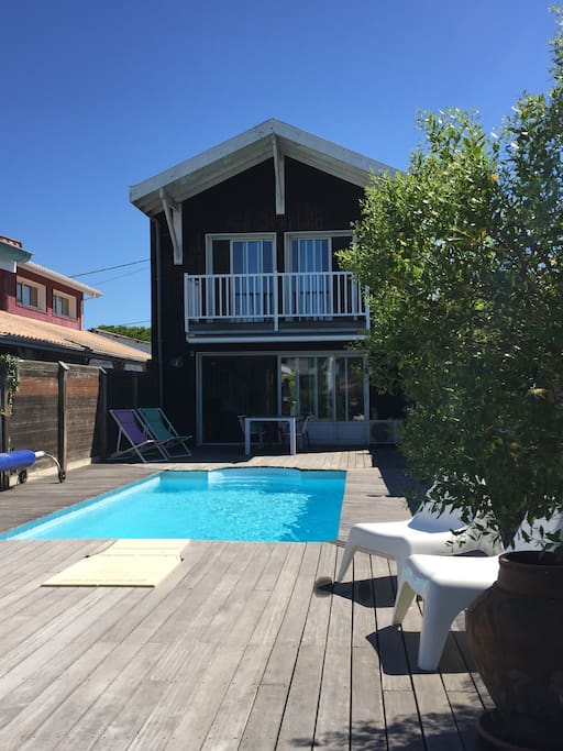 bassin d 39 arcachon villa avec piscine villas for rent in