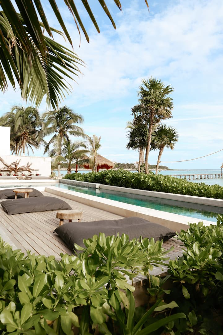 Luxury Ocean View - 2 BR & Private Jacuzzi