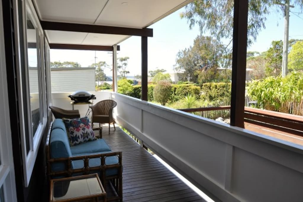 Level 1 Balcony with sea view and BBQ