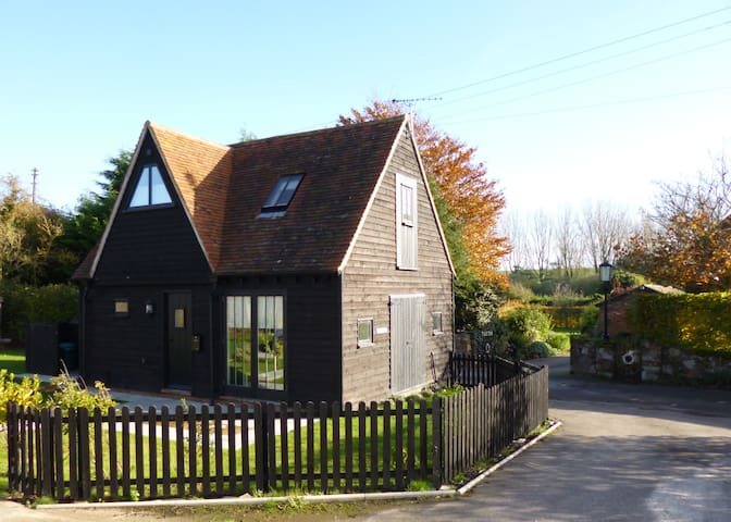 A converted timber-framed Granary