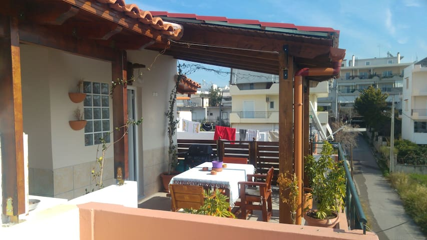 Amazing apt near the center of Athens - Acharnes