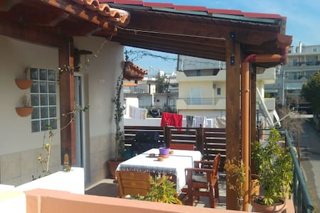 Amazing apt near the center of Athens - Acharnes - 公寓