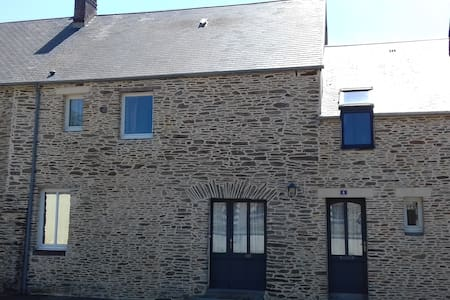 Maison ancienne rénovée avec matériaux de qualité