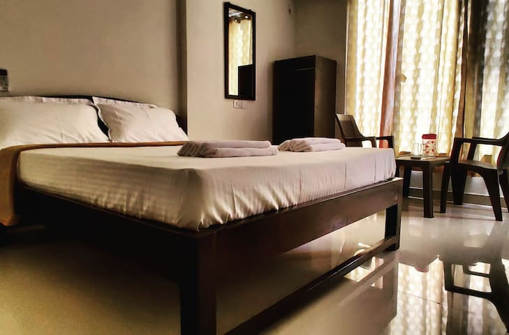 Double bed . Room