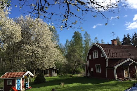 Sommarhus med egen brygga - Rimforsa - Haus