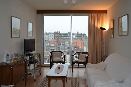 Cozy apartment with parking!!! - Nieuwpoort - Flat