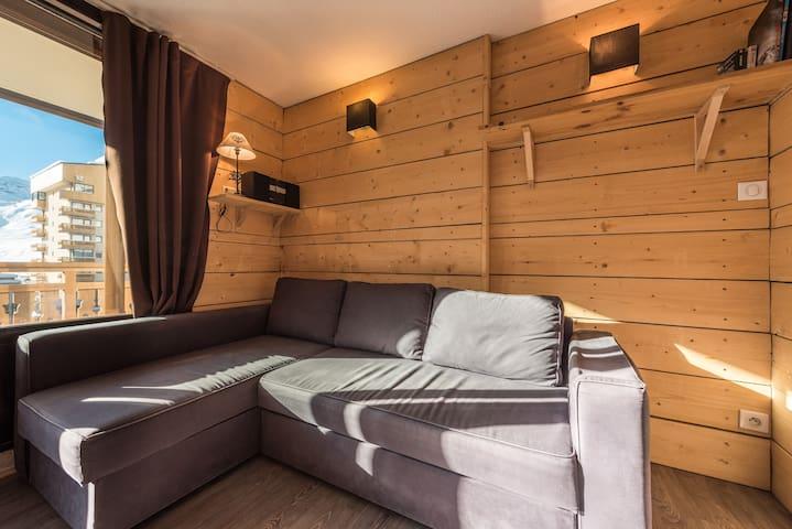 Appartement 2* centre Val-Thorens - Saint-Martin-de-Belleville - Leilighet