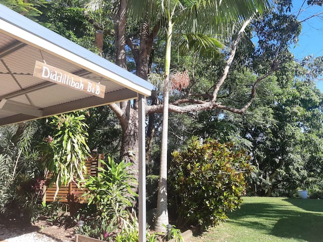 A warm welcome awaits you at Diddillibah BnB!