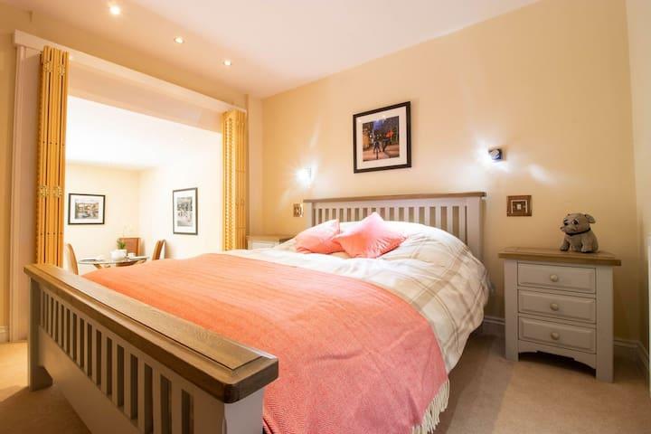 Bedroom towards living room