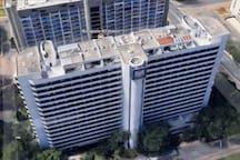 Flat no Hotel Bonaparte - no centro de Brasília