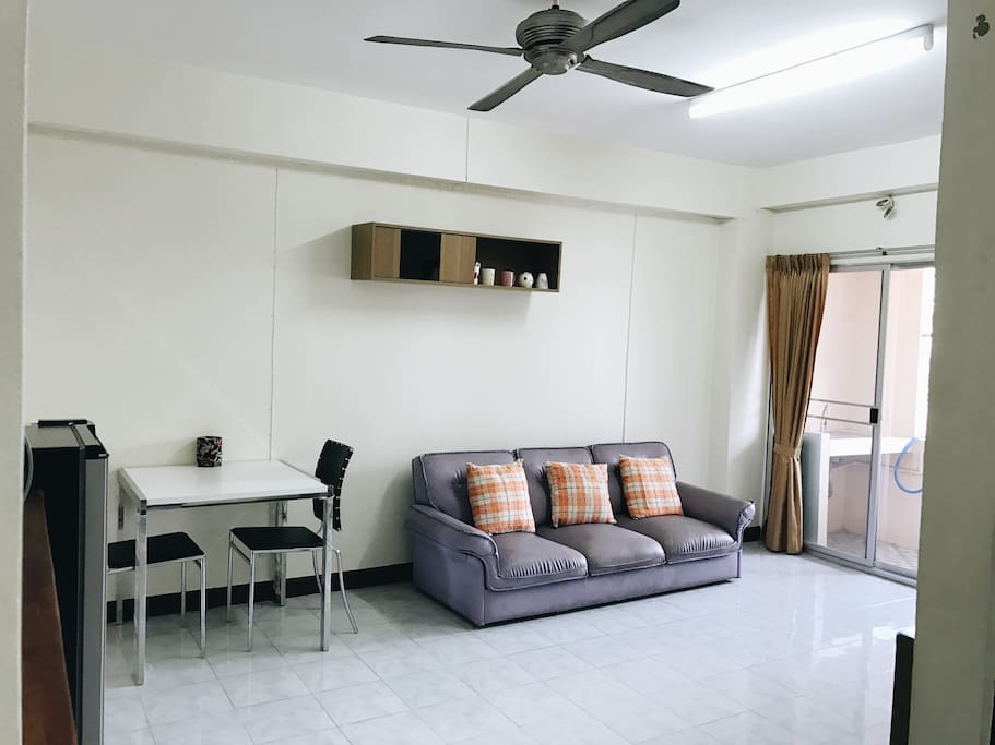 Clean Suburb Home Living Room