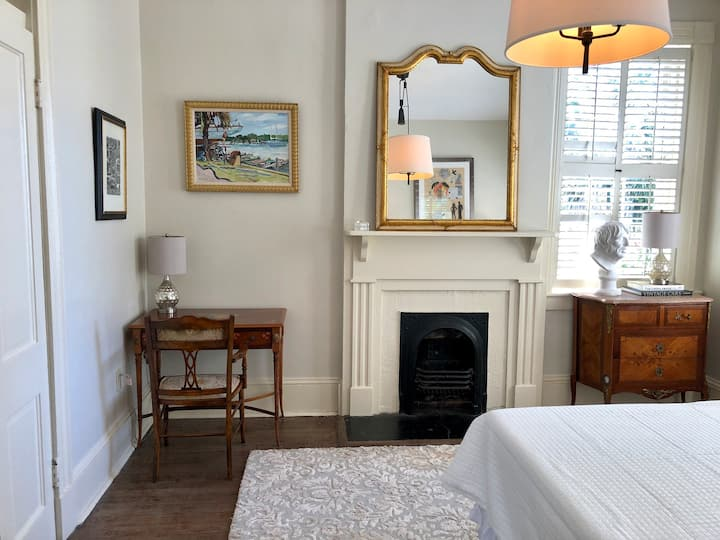Unique Historic District Free Standing Brick Home