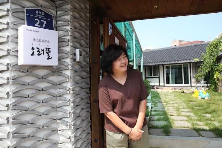 오래뜰_ 본채 1인실(여성전용)
