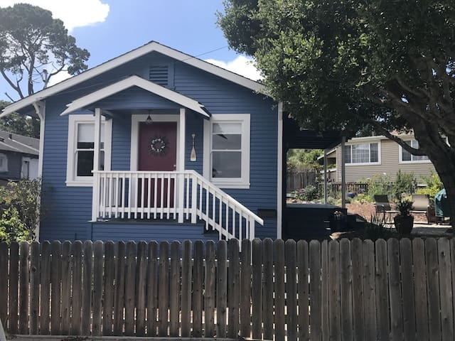 live like a local in a beautiful Monterey cottage
