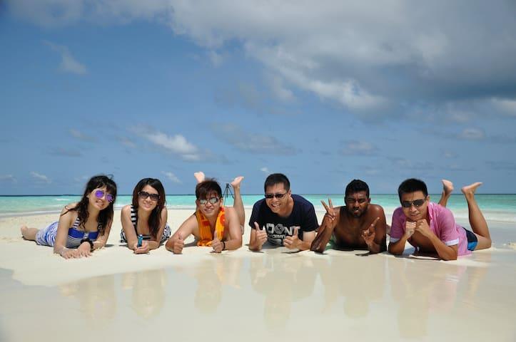 Beach Lovers at Equator Beach Inn - K. Maafushi - Bed & Breakfast
