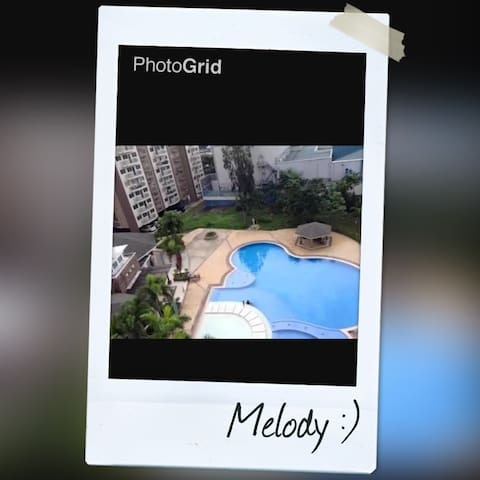 3 bedroom with balcony - woodsville - paranaque - Appartement