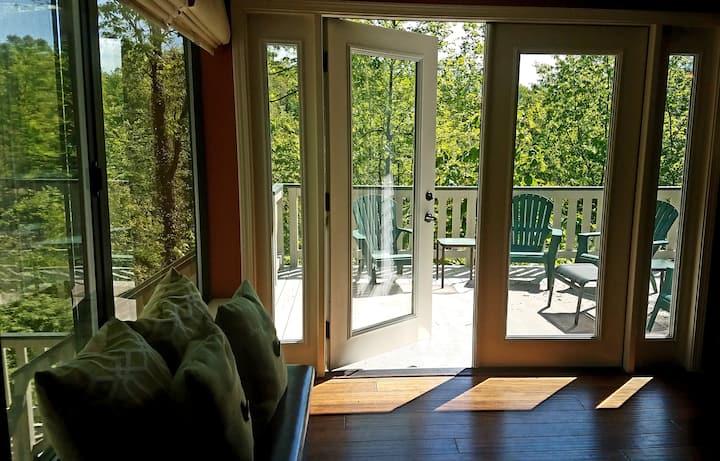 Saluda Vista:Lakeside Retreat/Hot Tub/Contact Free
