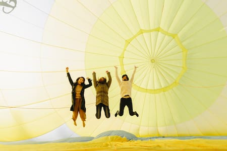 Stay and Fly !! Hotairballoon Camping【SOLABASE】