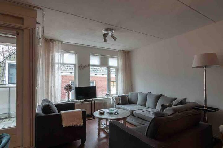Centrum Leeuwarden, ruime luxe 4 kamerappartement