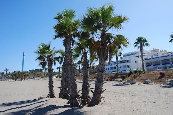 Apartamento primera linea de playa. Carboneras