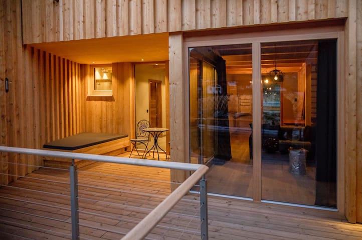Natur-Designholzhaus Alpegg Chalets