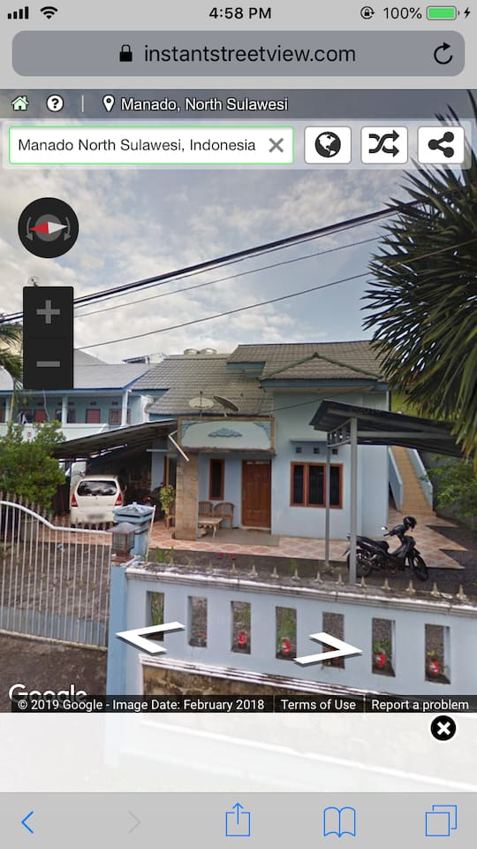Proprety picture taken from Google Street Maps