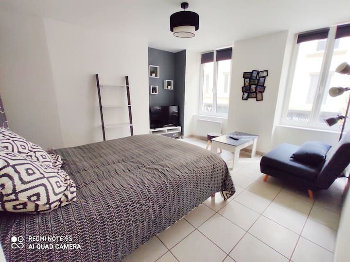 Appartement 35m² centre Cherbourg - Netflix - Wifi