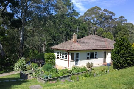 Wombat Glen cottage - Rumah