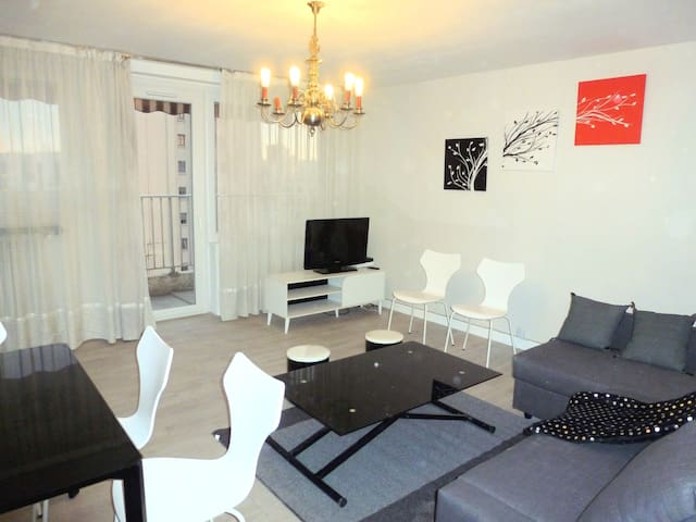Appartement Lyon Gratte-Ciel Proche Metro - Villeurbanne - Leilighet