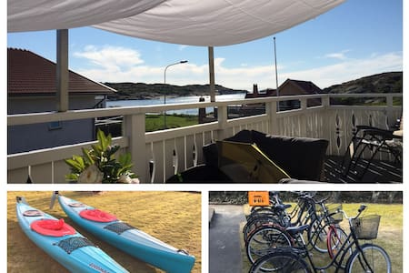 Apartment-Öckerö-Great location-Kayaks-Bicycles