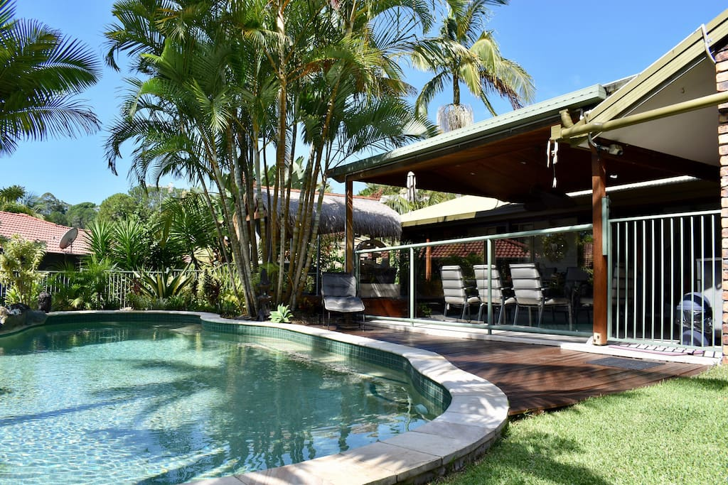 Balinese Resort Style House Tugun Houses For Rent In