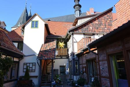 Attraktives Apartment in Quedlinburg mit Innenhof