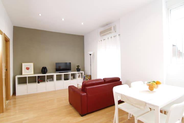 Central, bright, in Èl Botànic+WIFI (Fiber Optic) - València - Apartament