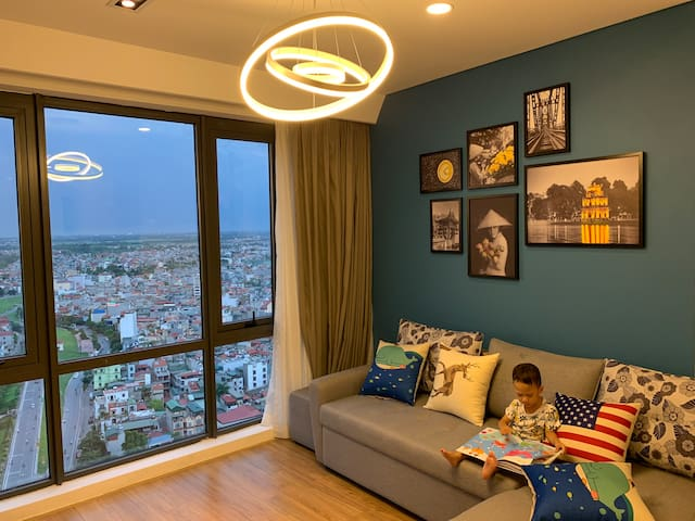 Beautiful view from living room
