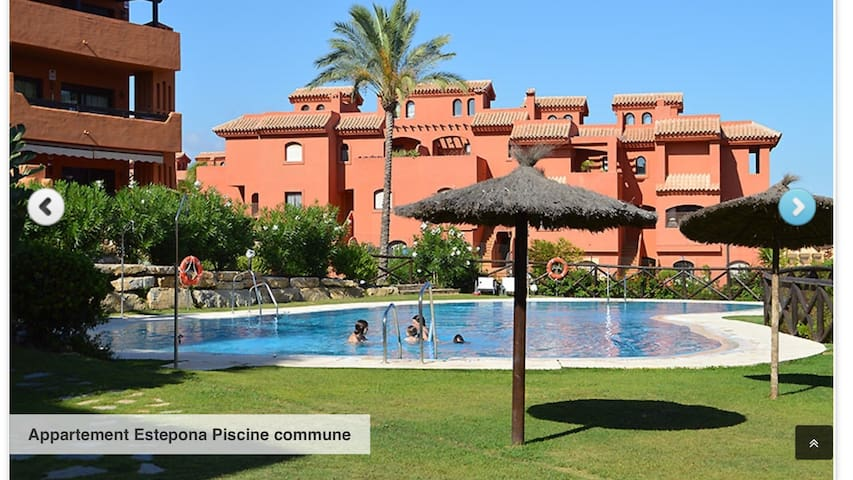 Résidence jardin tropical !! -  Estepona -  Buenas noches - อพาร์ทเมนท์
