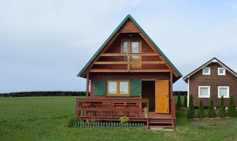 Drewniany Domek Letniskowy 50m2 - Władysławowo - House