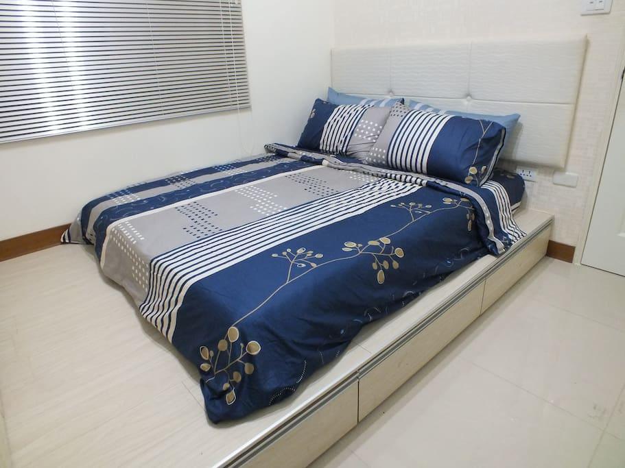 高級雙人獨立筒蜂巢彈簧床