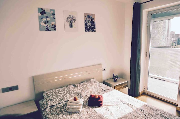 1 Room for 2P in modern apartment, cozy&convenient