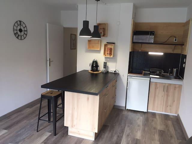 Appartement pied des pistes Gourette