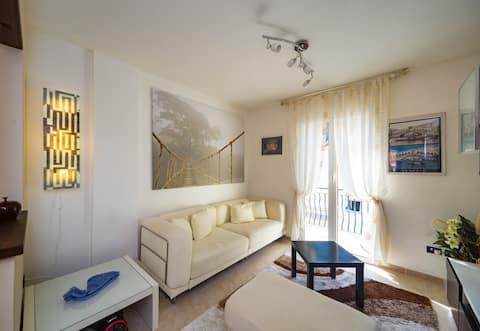 Modern apartment BUBU CASA in Liguria (Wi-Fi)