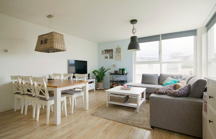 Bright and light city apartment - Amsterdã - Apartamento