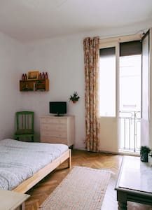 Charming bright double room - Barcelona - Wohnung