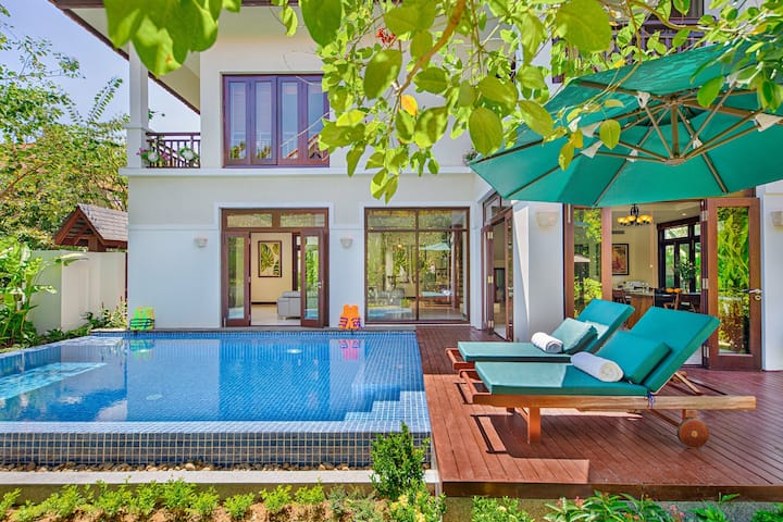 Jessica Furama Resort Villa Beach- 3Bedrooms