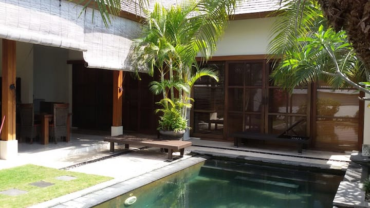Tropical one bedroom Villa with private pool